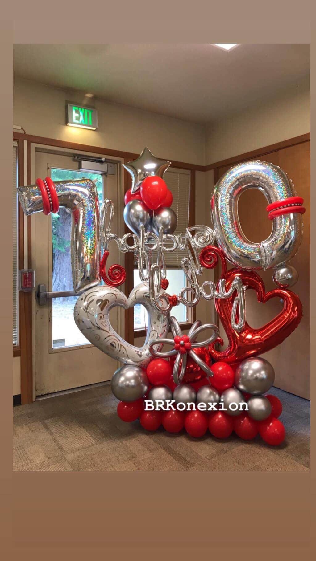 birthday decoration - salem oregon