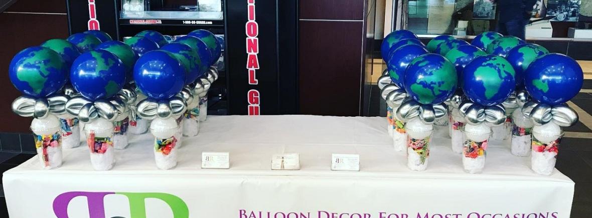 balloon corporate decor